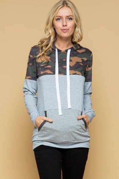 Camo Grey hoodie