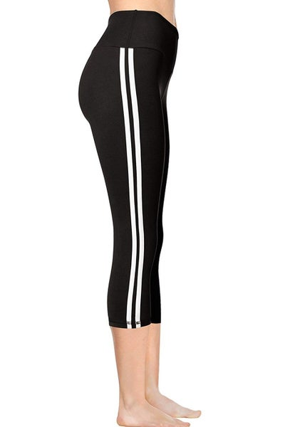 Striped Legging Capri