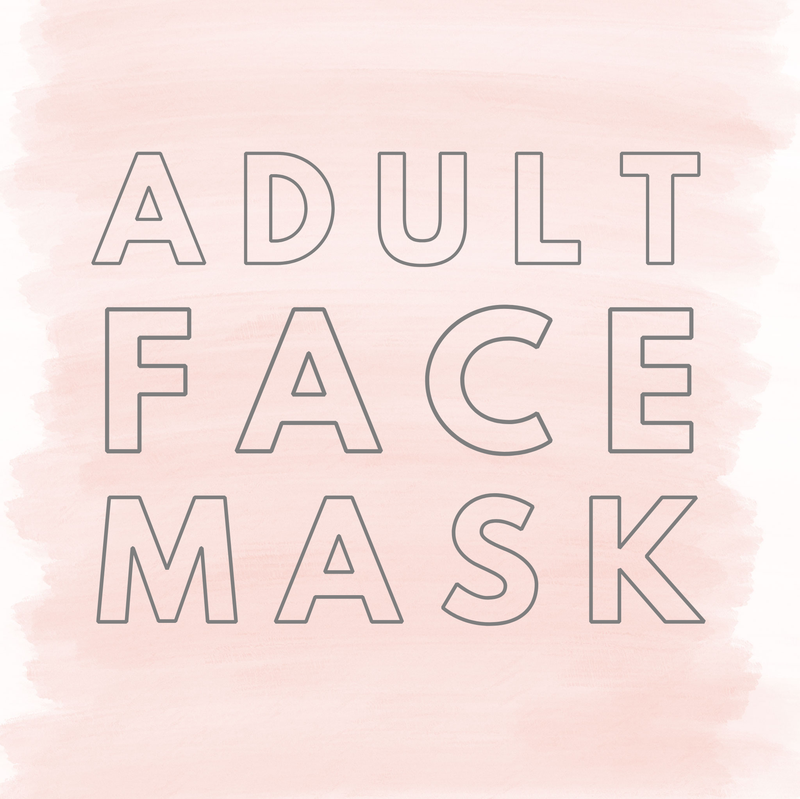 Adult Face Cover