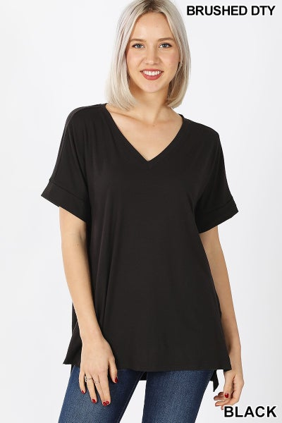 Solid Boxy top