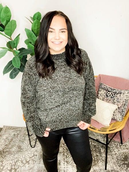 Ash Grey Chenille Sweater