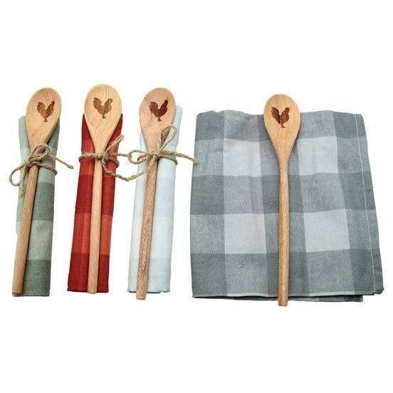 Dishtowel & Spoon Gift Set