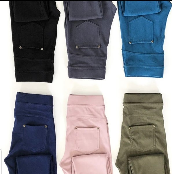 Skinny Pocket Jeggings