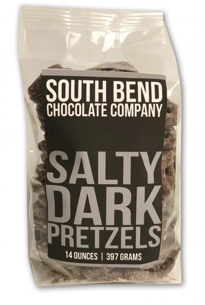 Sweet & Salty Dark Chocolate Pretzels
