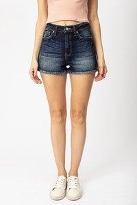 Kan Can frayed shorts