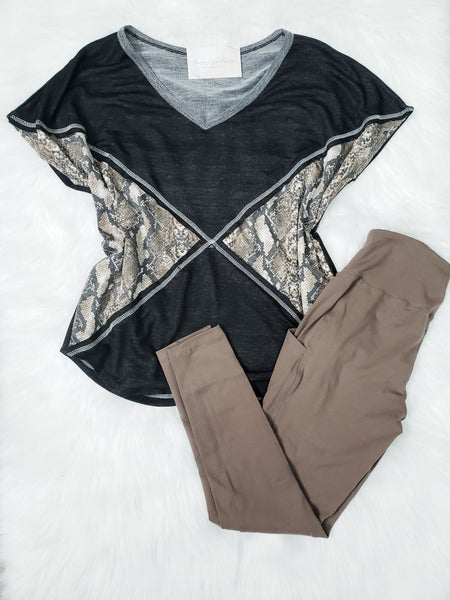 DEAL OF THE DAY - Tee & Leggings