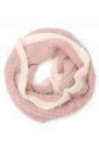 Soft Fur Crochet Infinity Scarf