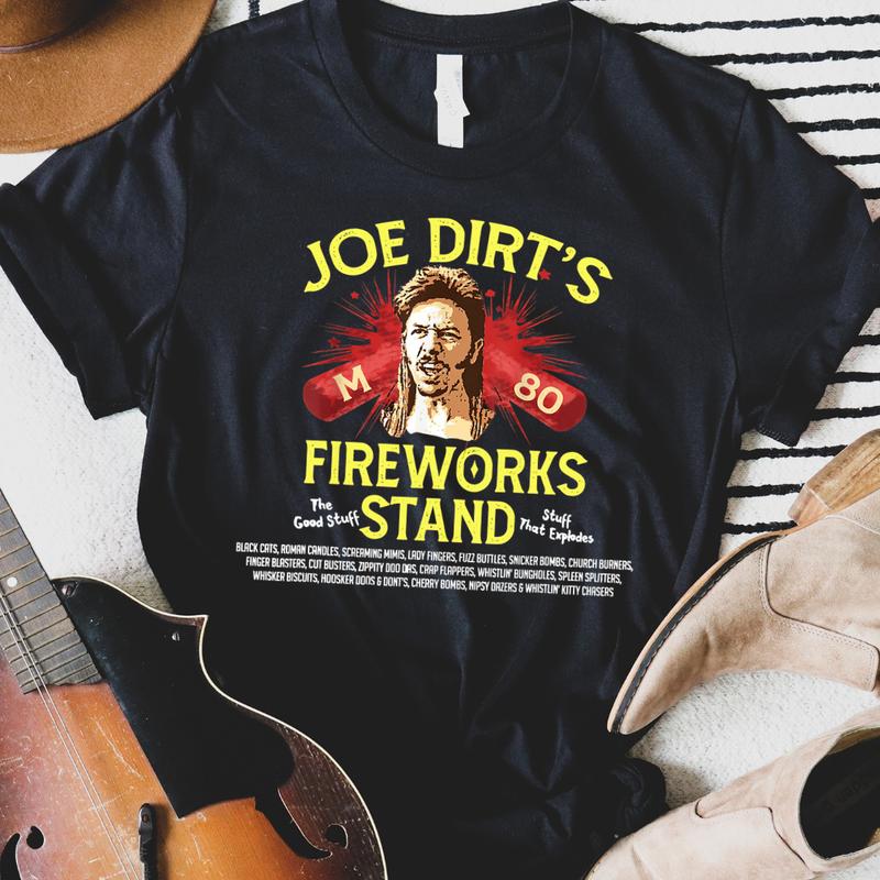 Joe Dirt's Fireworks Stand Graphic Tee