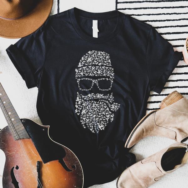 Bearded Man Graphic Tee