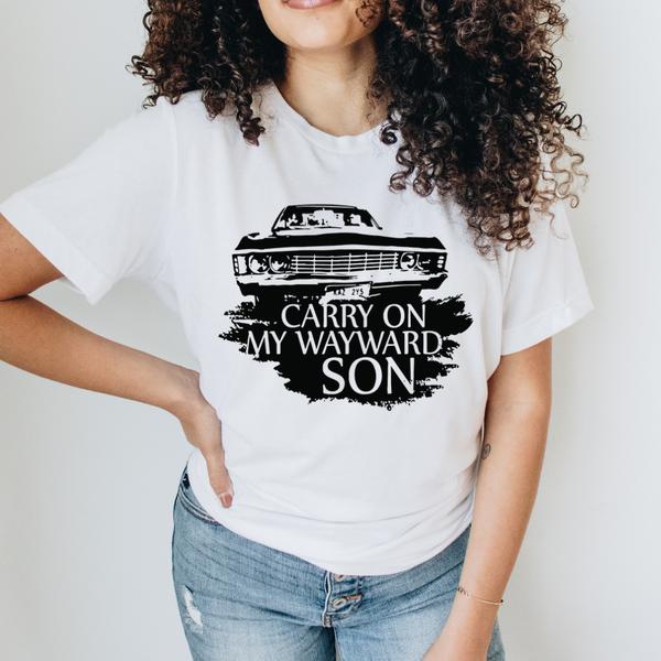 Carry On Wayward Son Graphic Tee