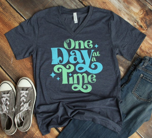 One Day at a Time Graphic Tee
