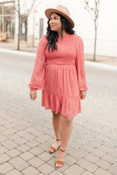 Samantha Smocked Bodice Dress