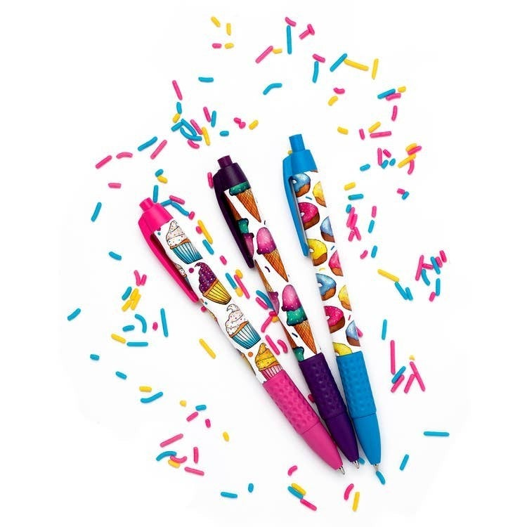 Scented Pen Sets - Junk Food & Sweet Treats