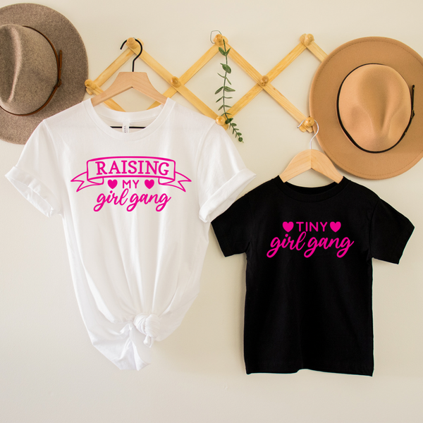 Girl Gang Mommy & Me Graphic Tee