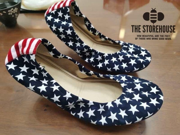 The Storehouse Flats - Stars & Stripes Suede