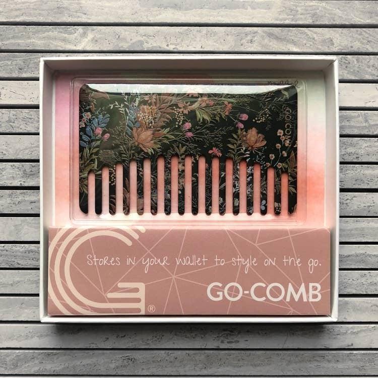 Go- Comb - Metal Wallet Sized Comb