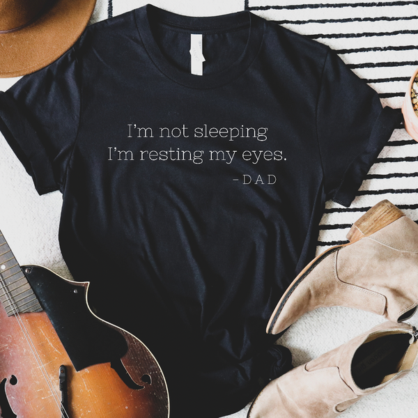 Resting My Eyes Graphic Tee