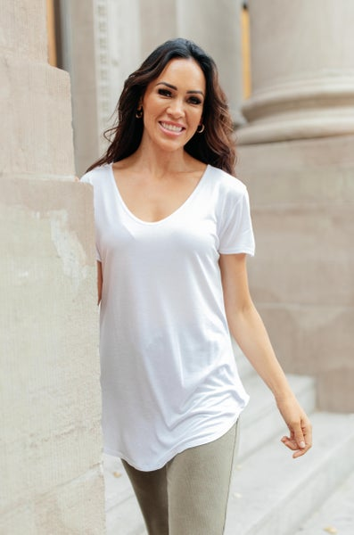 Perfect Days Top in White