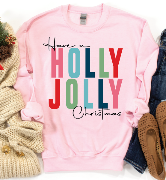 Have a Holly Jolly Christmas Graphic Pullover