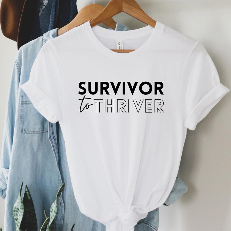Survivor to Thriver Graphic Tee