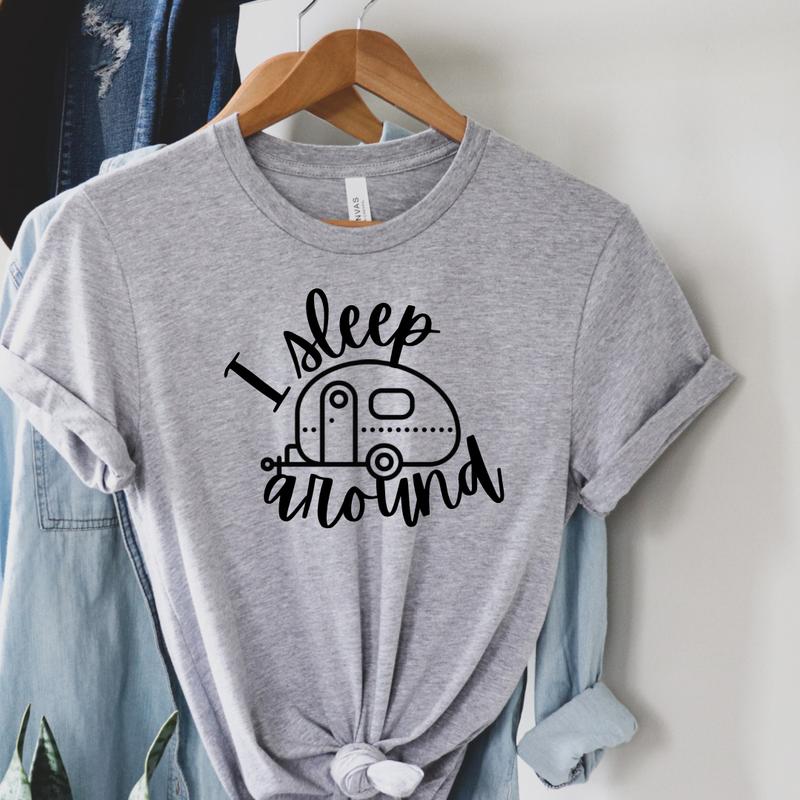 I Sleep Around Graphic Tee
