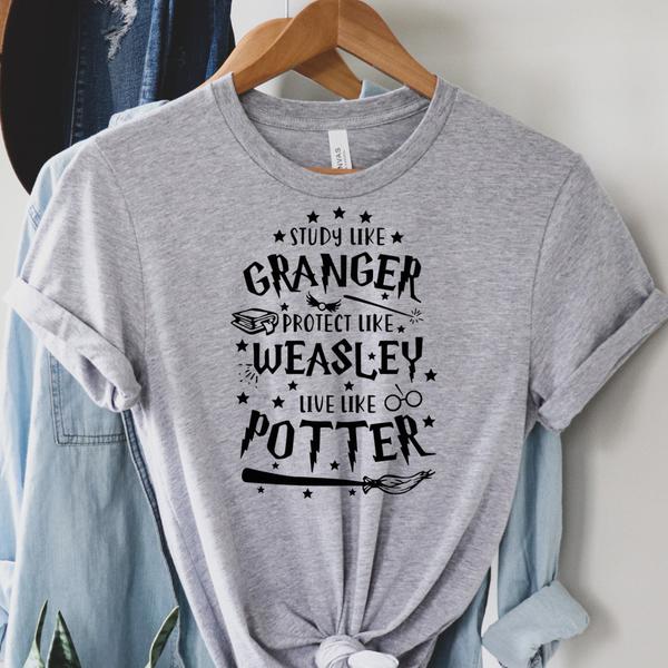 Study Like Granger - Harry Potter Graphic Tee