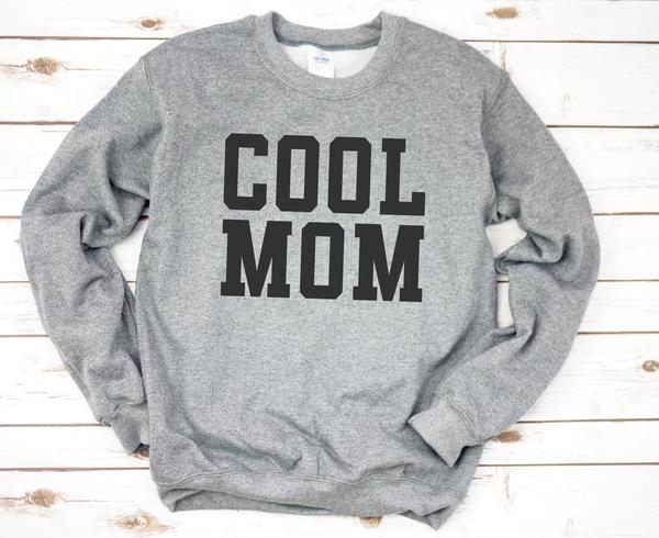 Cool Mom Graphic Sweatshirt