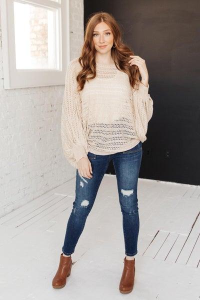 Fall Sky Sweater