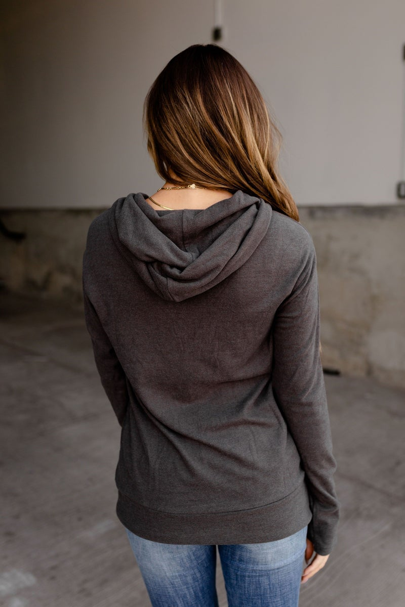 A&A Half Zip -Slate Performance Fleece