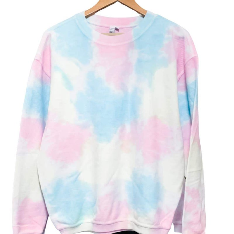 Tie Dye Corded Pullover