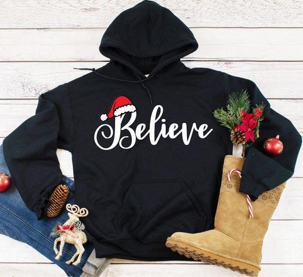 Believe Hoodie Super Soft Fleece Hoodie
