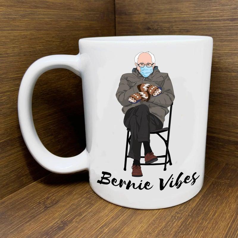 Bernie Mittens Ceramic Mug *Pre-Order*