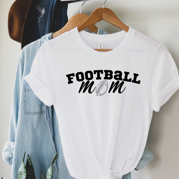 Football Mom Graphic Tee