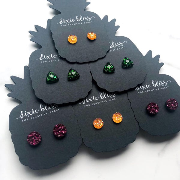 Dark Poet Stud Singles - 3 Colors