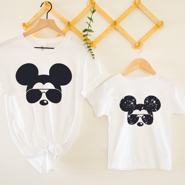 Aviators Magical Mouse Daddy/Mommy & Me Graphic Tee