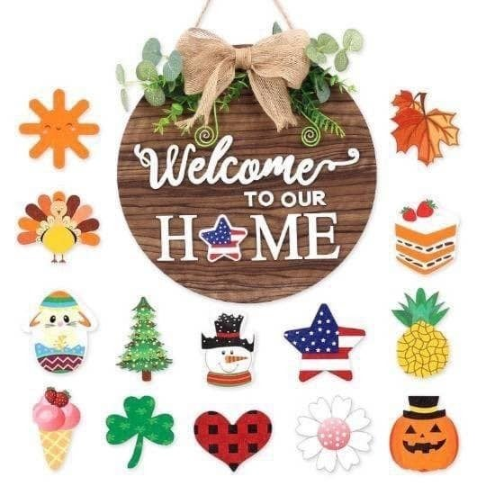 Interchangeable Welcome Sign  *Pre-Order*