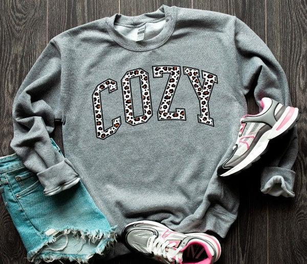 Cozy Graphic Sweatshirt
