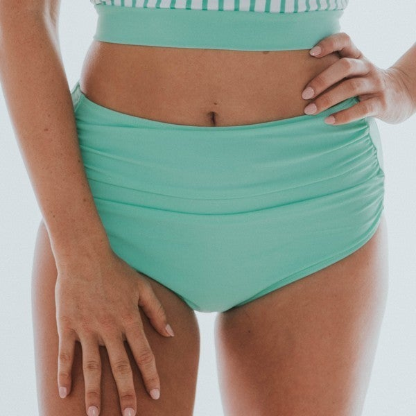 BAREFOOT - Women's Mint Midi Ruched Bottom
