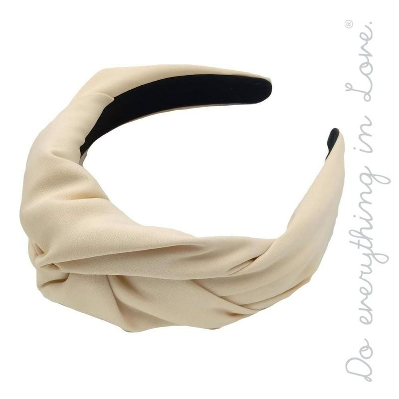 Solid Twisted Headband