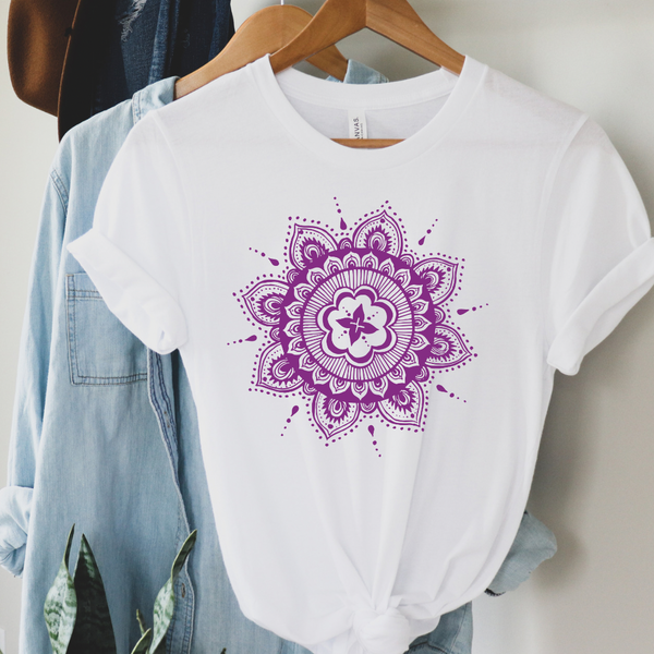 Bohemian Floral Graphic Tee