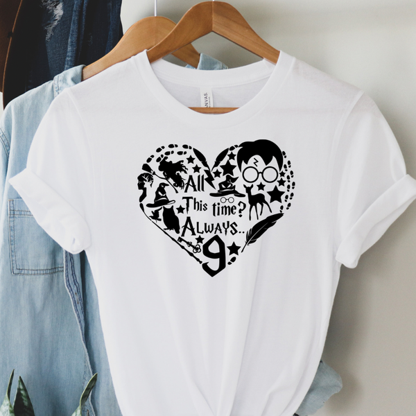 Potter Always Heart - Harry Potter Graphic Tee