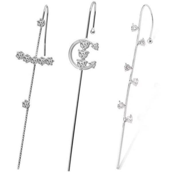Silver Crawler Hook Earrings  *Pre-Order*