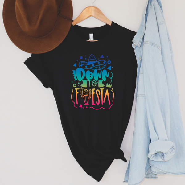 Down to Fiesta Graphic Tee