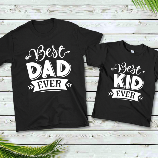 Best Dad / Kid Daddy & Me Graphic Tee