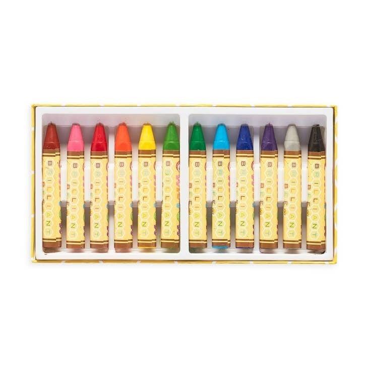 Brilliant Bee Crayons - Set of 12