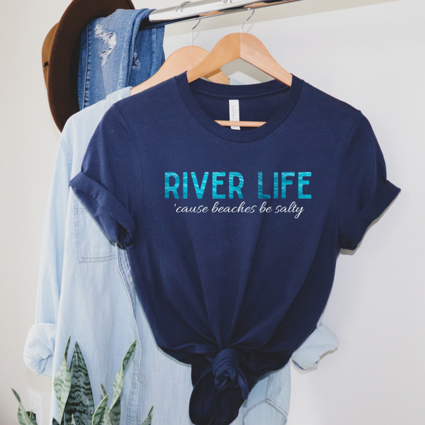 River Life (Watercolor) Graphic Tee