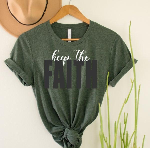 Keep the Faith Graphic Tee