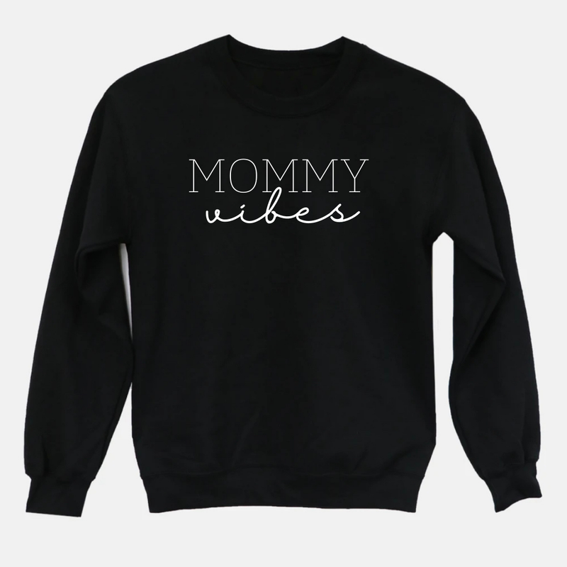 Mommy Vibes Graphic Tee Pullover