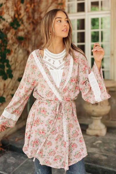 Floral Femme Kimono