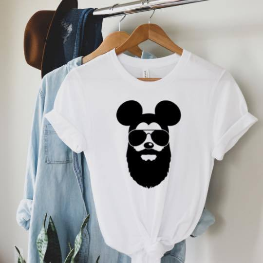 Bearded Mouse Magical Graphic Tee